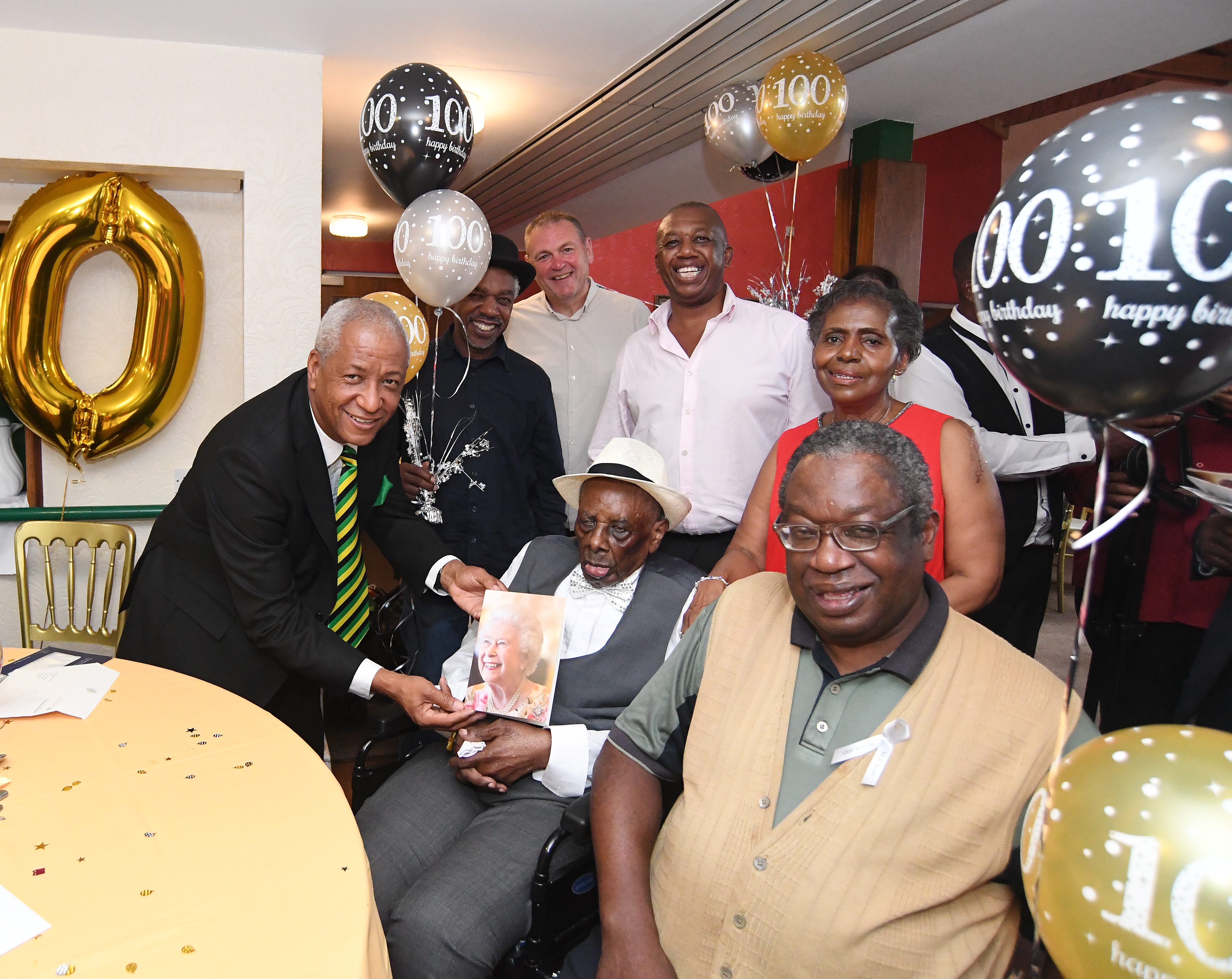 Rudolph Smith turns 100.