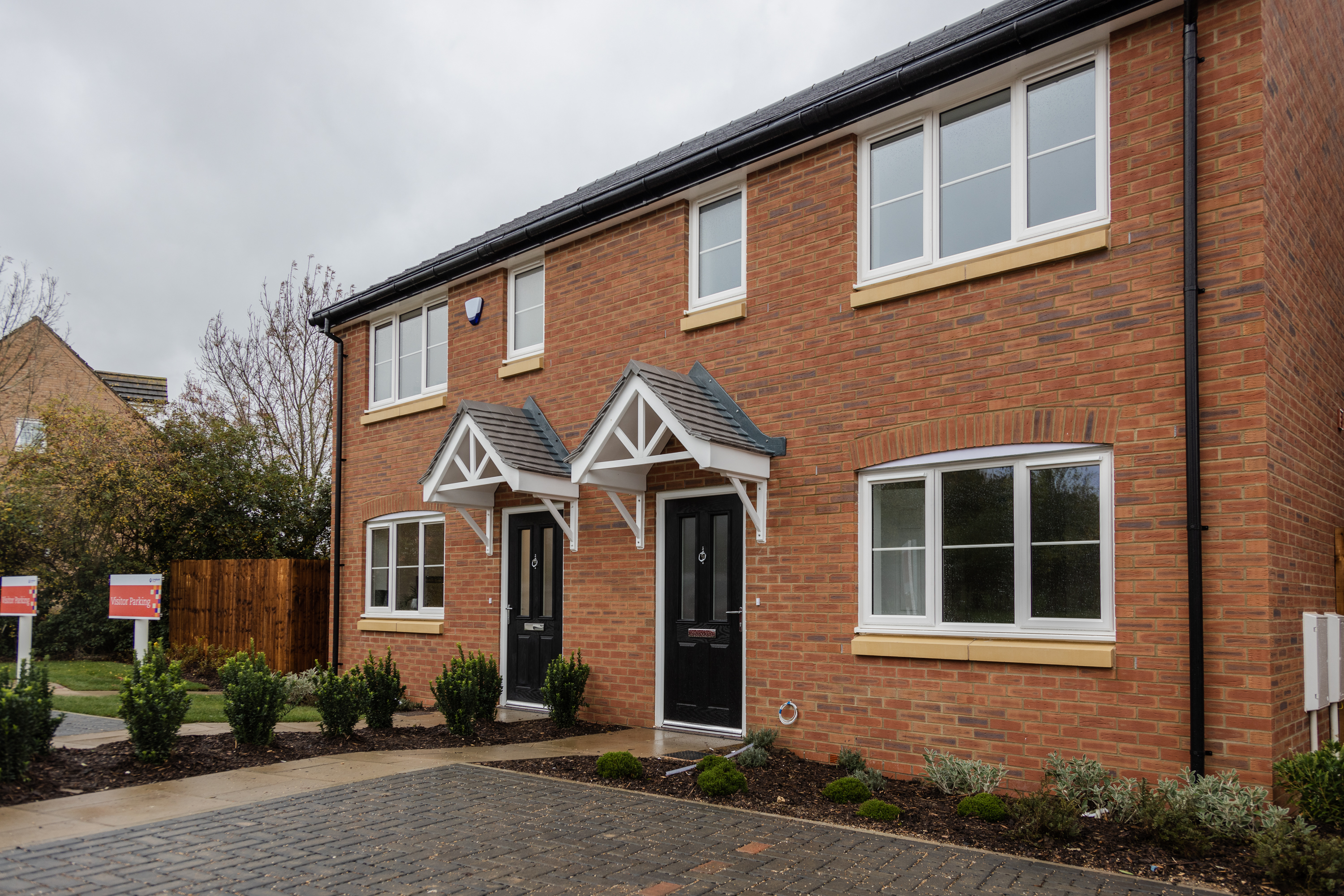 An example of a semi detached three bedroom home at The Paddocks in Littleport