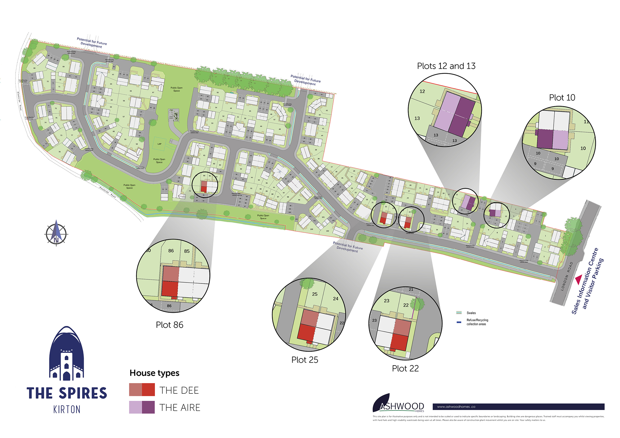 The Spires Site Plan
