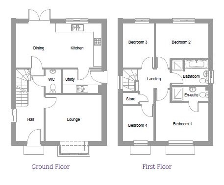 The Beech at Bluebell Place floorplan