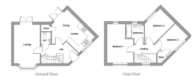 The Cedar House Layout