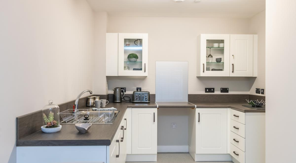 Willow Court – one bed apartment – Kitchen