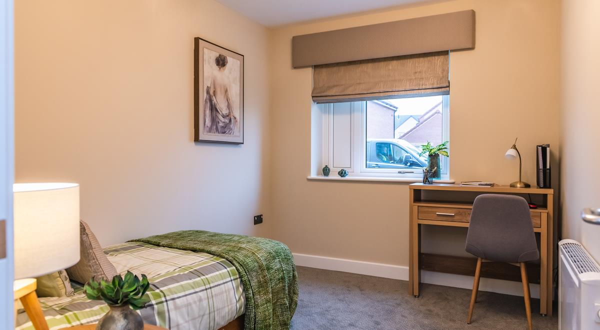 Willow Court – two bed apt – Bedroom/Study