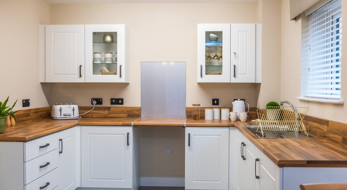 Willow Court – two bed apt – Kitchen
